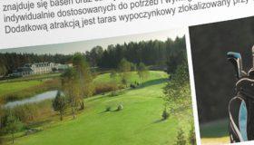 Projekt folderu – Lipowy Most Golf Park