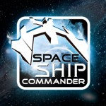 Projekt logo do gry Space Ship Commander