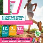 """Charytatywna Siedemnastka - 4 bieg""""Dla-hospicjum Dla życia"""" 8 sierpnia 2015"""