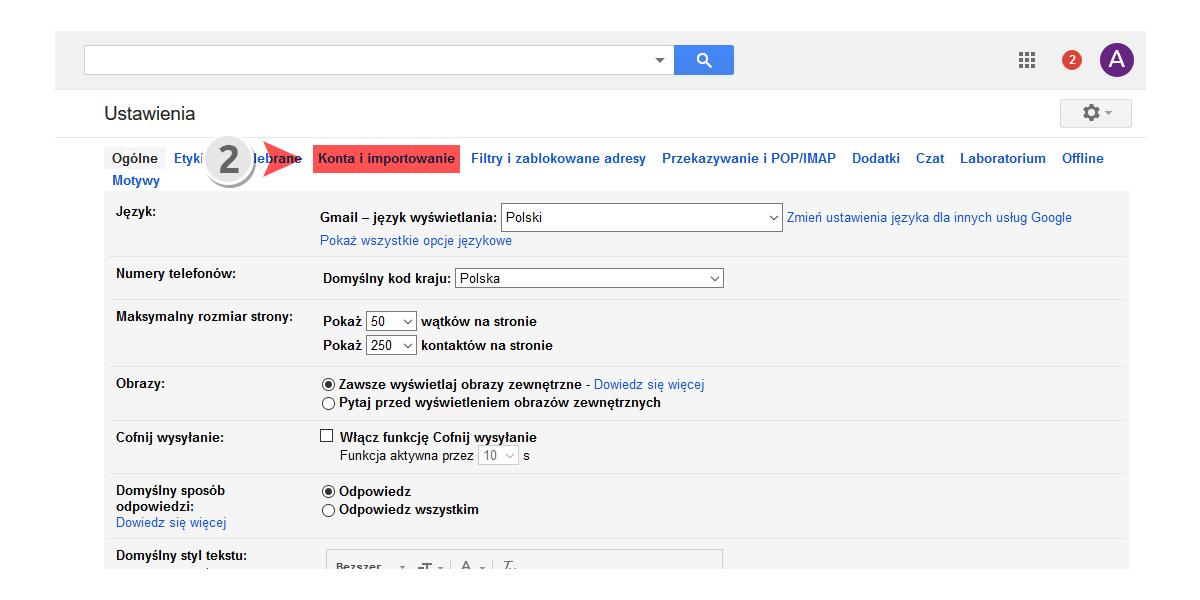 Jak dodać alias (dodatkowy adres e-mail) w poczcie Gmail?