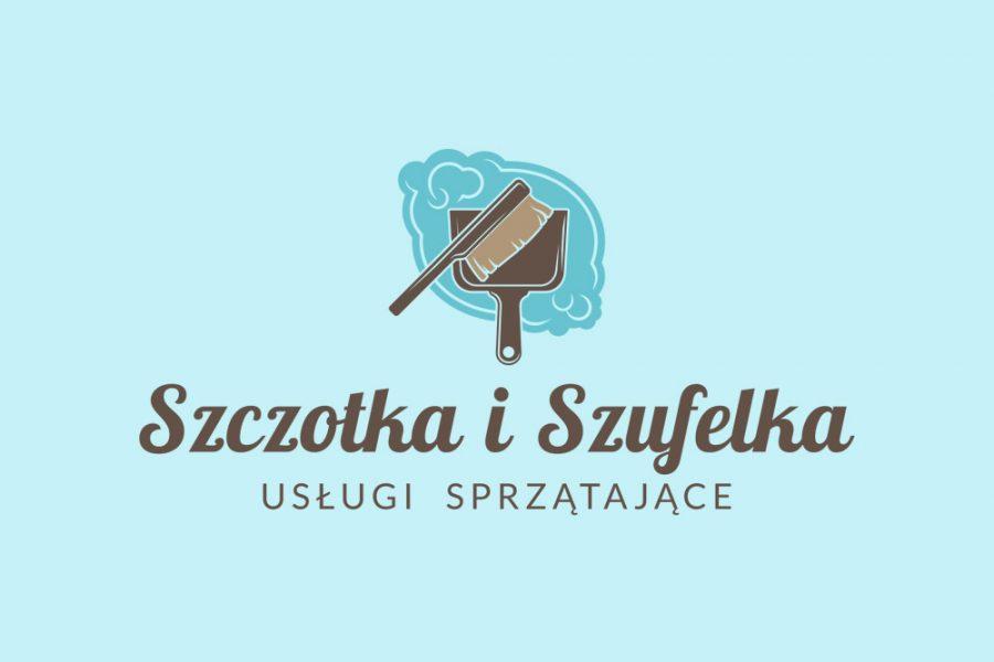Projekt logo – Szczotka i Szufelka