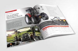Moto Agro - Projekt katalogu reklamowego - Białystok