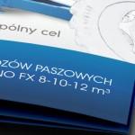 Euromilk - Projekt folderu - Białystok - Warszawa