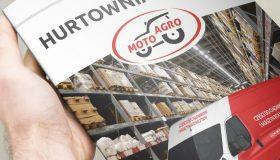 Projekt folderu reklamowego składanego – Moto-Agro