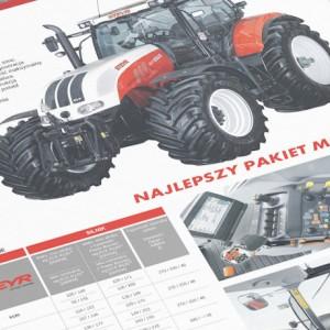 Moto Agro - Projekt folderu - Białystok - Warszawa