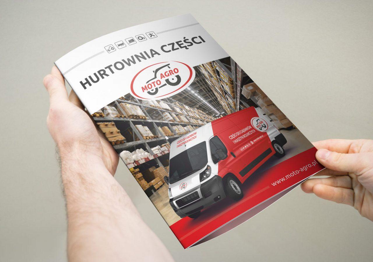 Moto Agro - Projektowanie folderów - Białystok