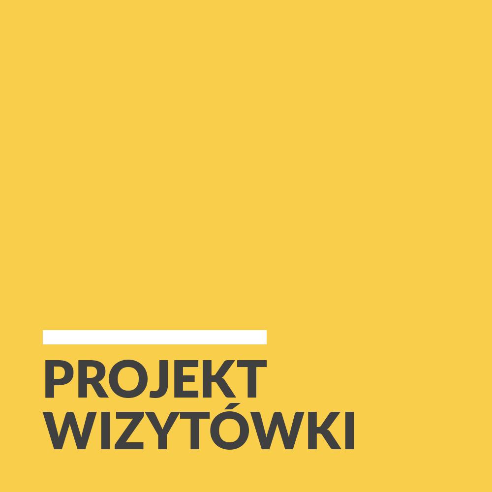 Projekt graficzny wizytówki - Białystok, Warszawa