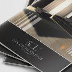 Projekt katalogu reklamowego - Stretch Ceilings London - Projekty katalogów - Clouds Agencja Reklamy Białystok