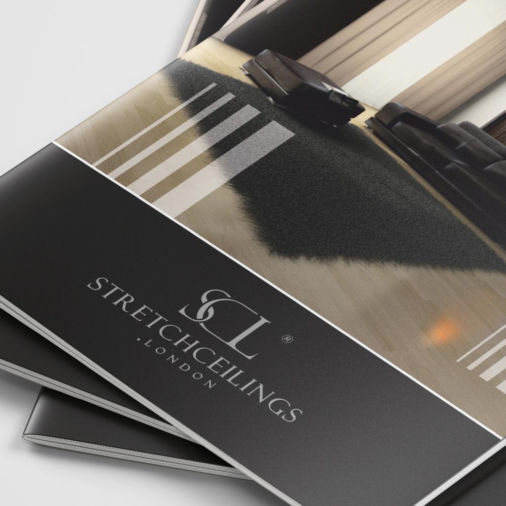 Projekt katalogu – Stretch Ceilings London