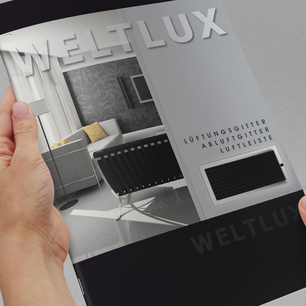 Projekt katalogu – Weltlux