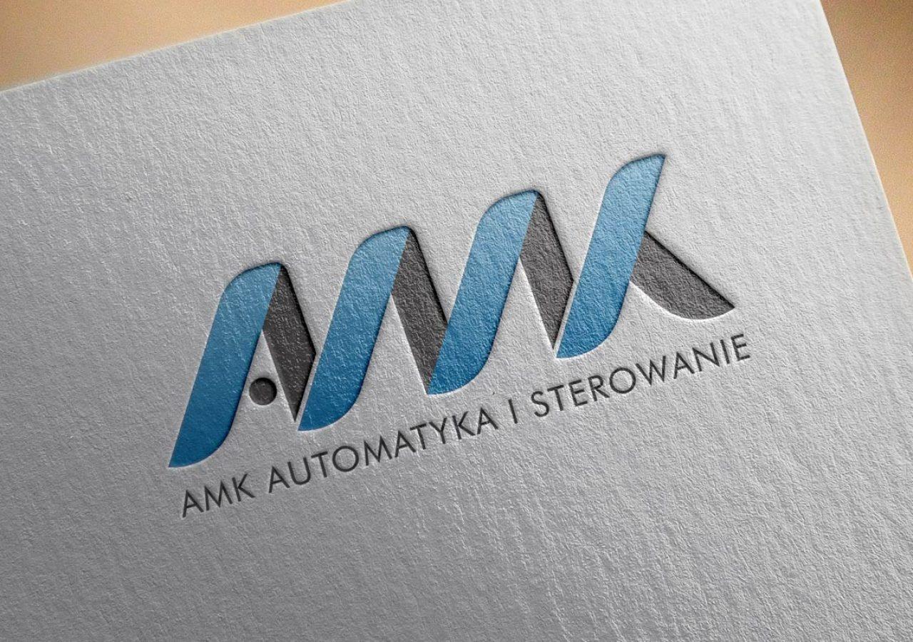 AMK Automatyka i sterowanie - Projektowanie logo - Białystok
