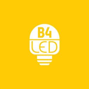 B4 LED - Projekt logo - Białystok