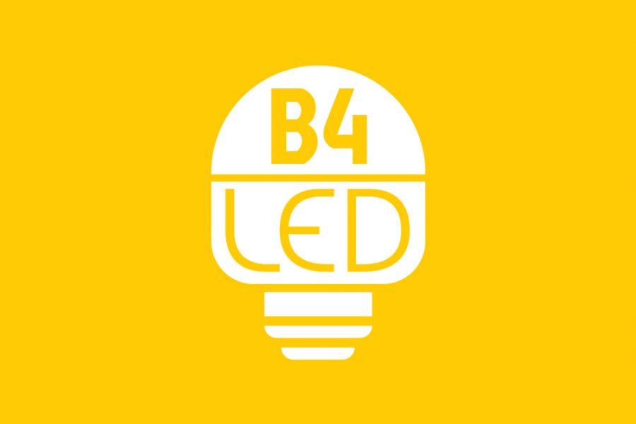 Projekt logo – B4LED