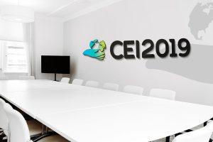 Projekt logo CEI2019 - Agencja reklamy Białystok