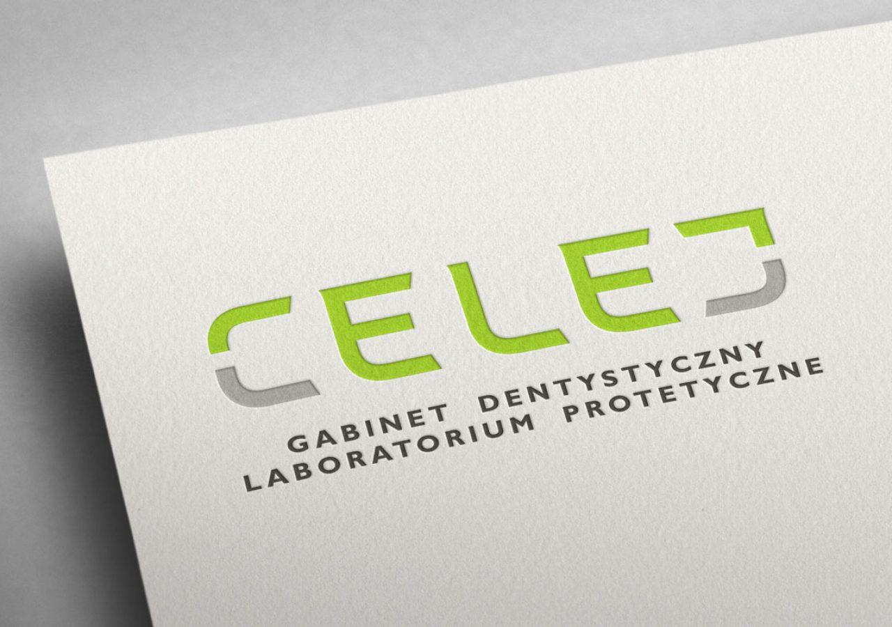 Celej - Gabinet dentystyczny - Projekt logo - Białystok, Warszawa