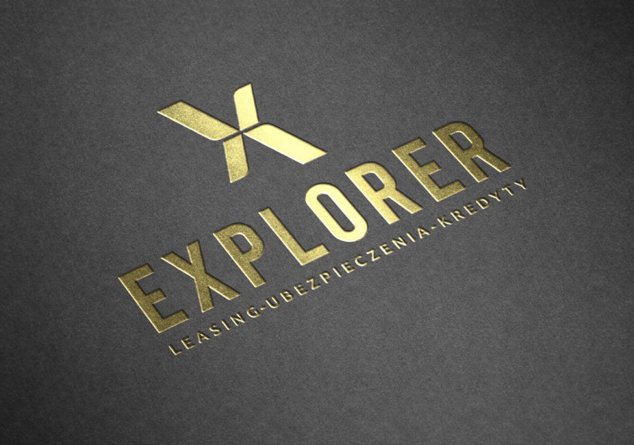 Projekt logo - Explorer Leasing, Ubezpieczenia, Kredyty - Wysokie Mazowieckie