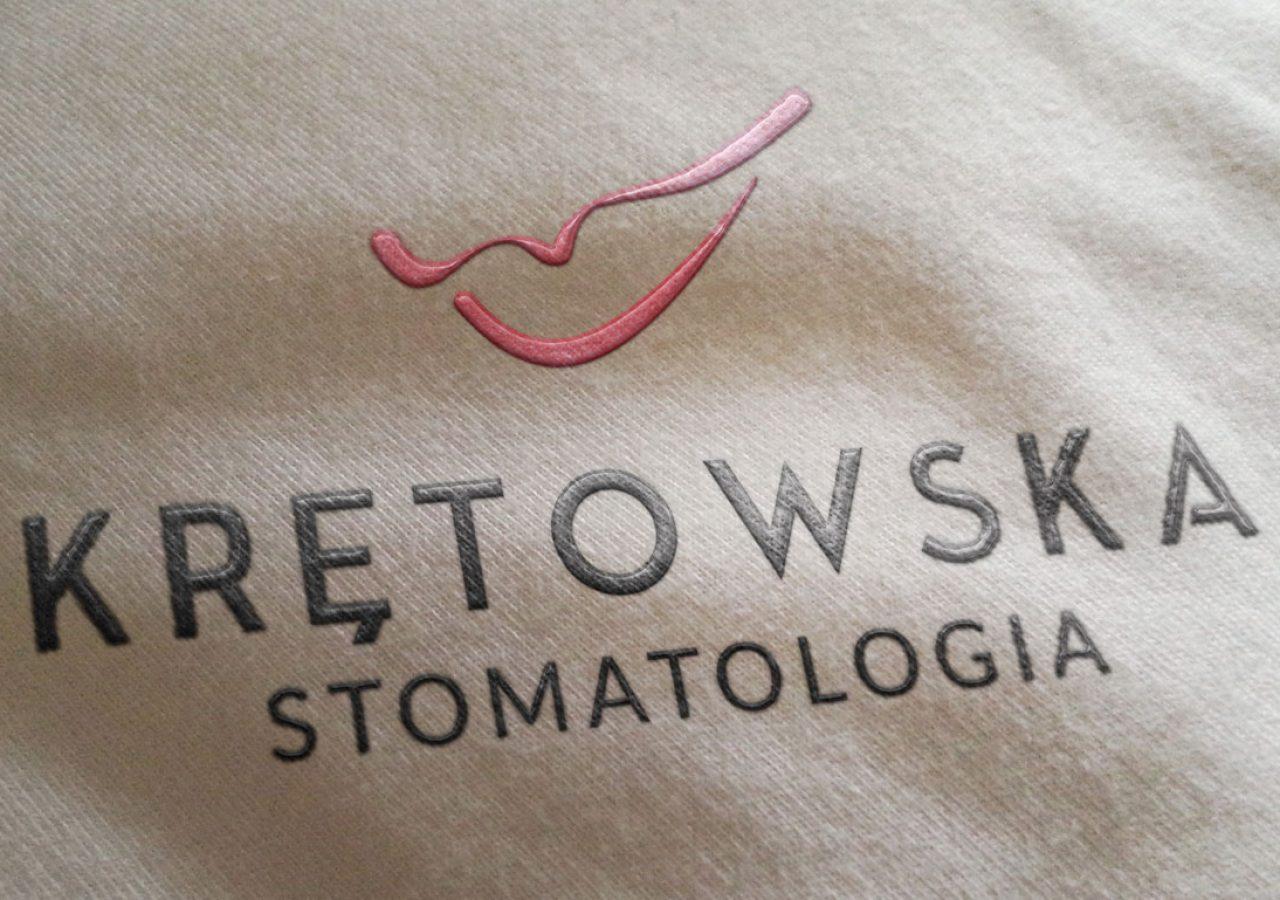 Projekt logo - Krętowska Stomatologia - Białystok