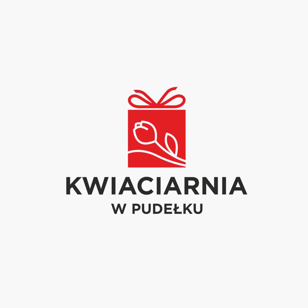 Projekt logo – Kwiaciarnia w pudełku