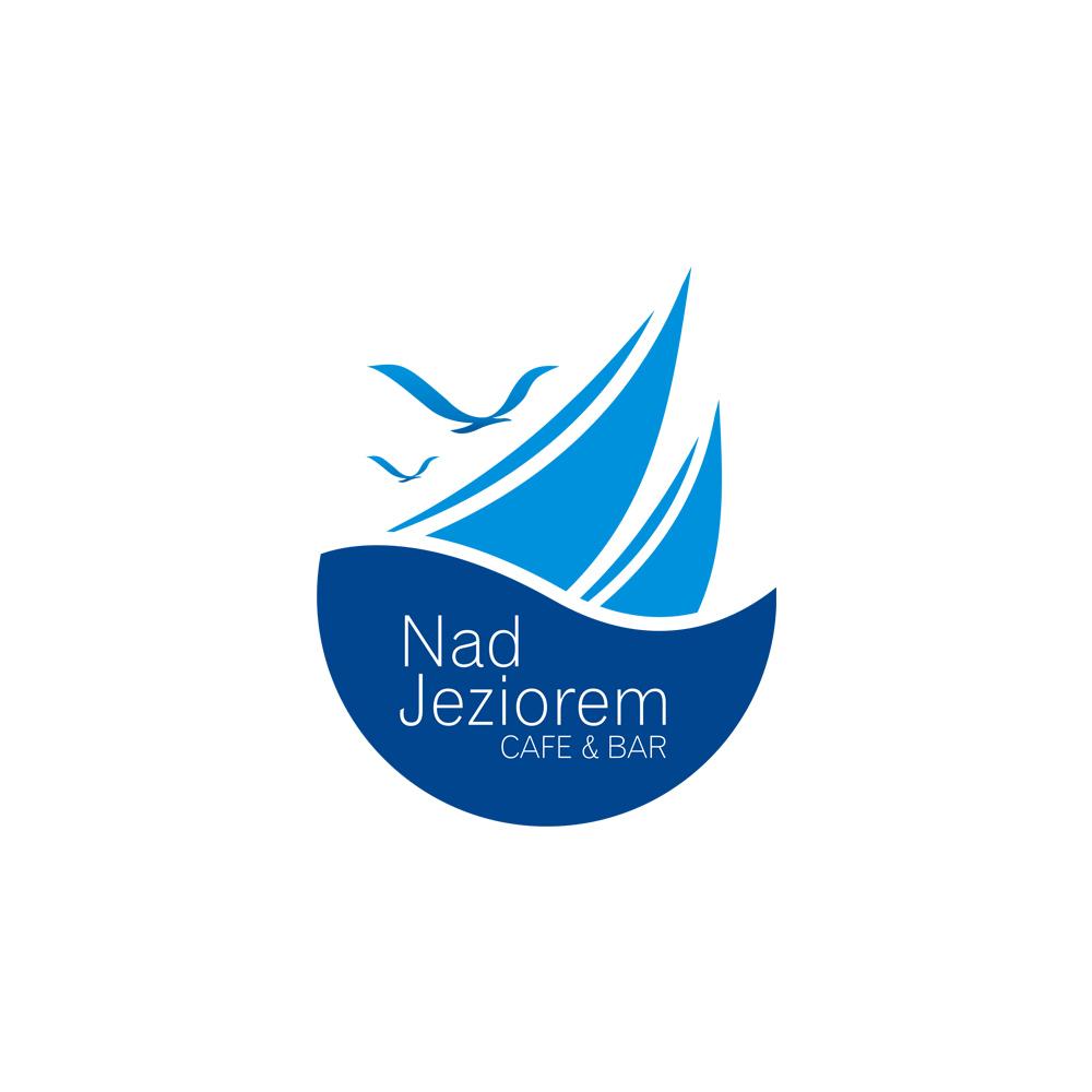 Projekt logo – Nad Jeziorem Cafe & Bar