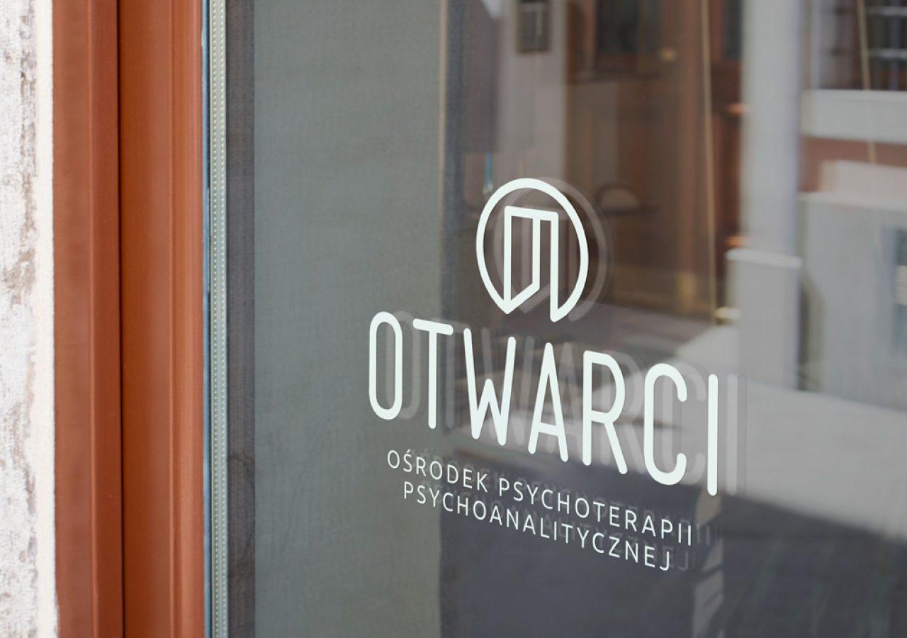 Projekt logo Otwarci - Ośrodek Psychoterapii Psychoanalitycznej - Clouds Agencja Reklamy Białystok