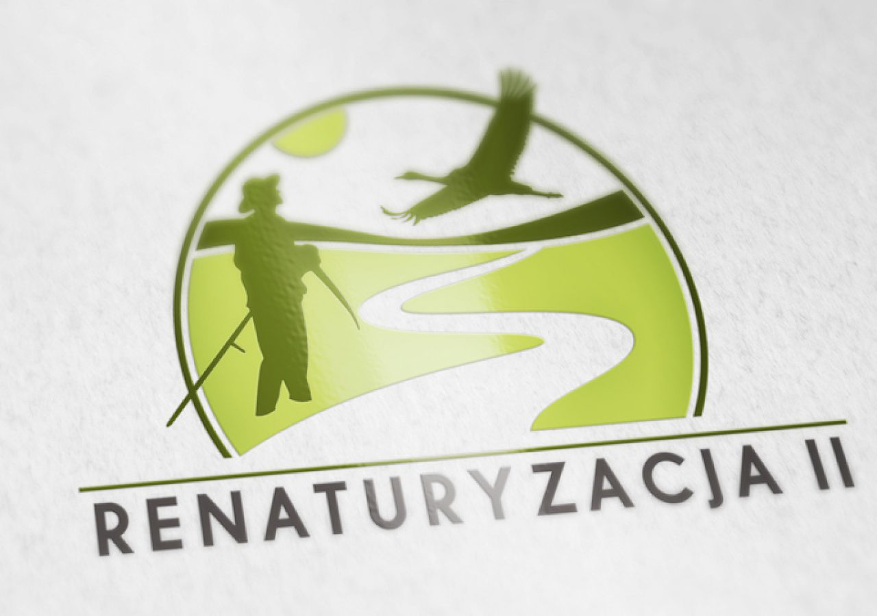 Renaturyzacja II - Projekt logo - Pełna księga znaku - Białystok - Warszawa