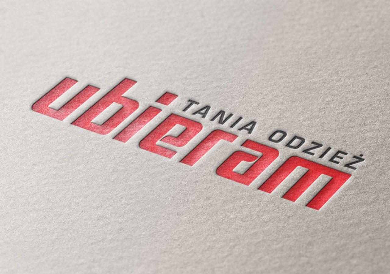 Ubieram tania odzież - Redesign logo - Projektowanie logo - Białystok