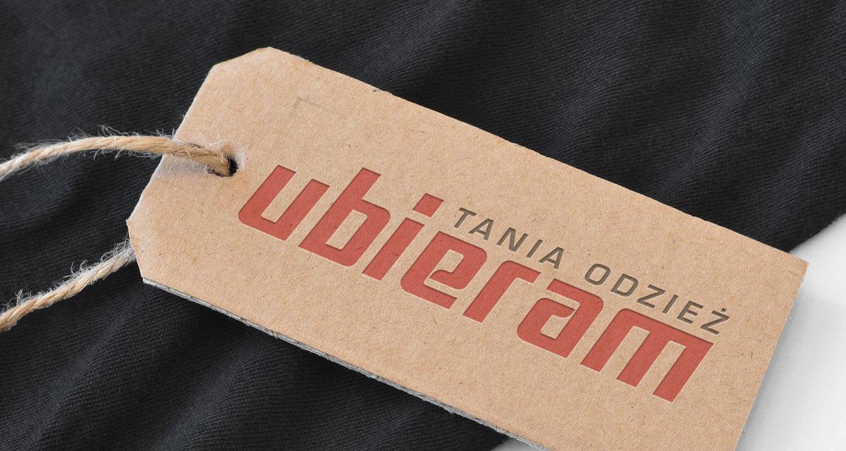 2d21b1337d ... Ubieram tania odzież - Redesign logo - Projektowanie logo - Białystok  ...