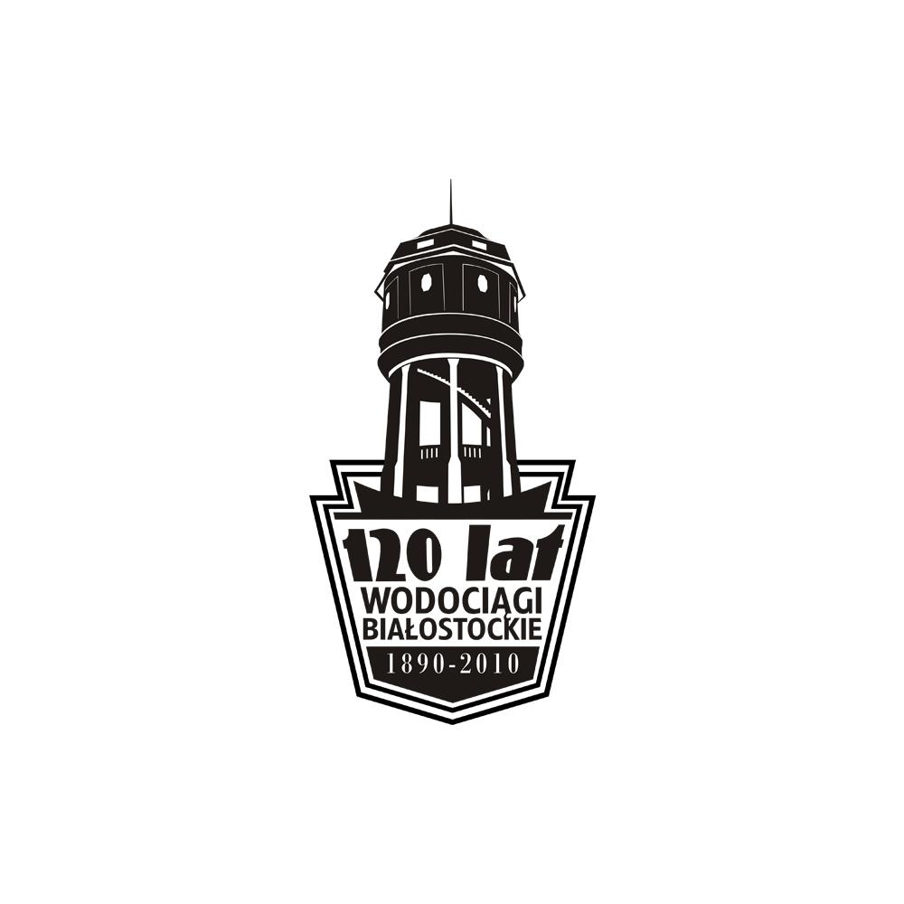 Projekt jubileuszowego logo – Wodociągi Białostockie