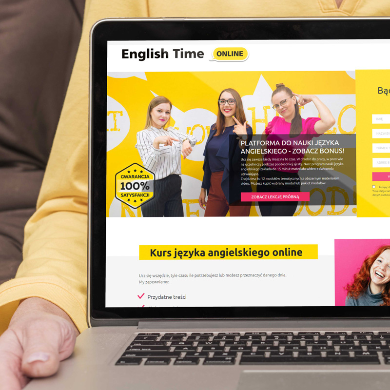 Platforma e-learningowa www.englishtimeonline.pl