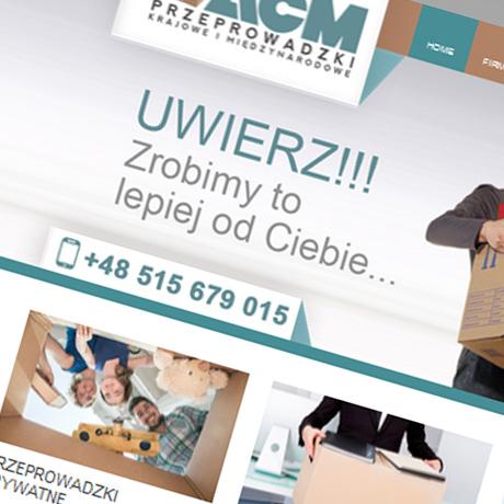 Strona internetowa – www.acmprzeprowadzki.pl