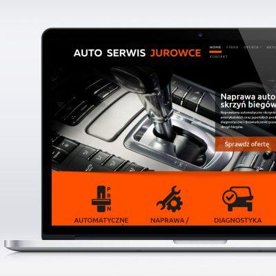 Strona internetowa – www.autoserwis-jurowce.pl