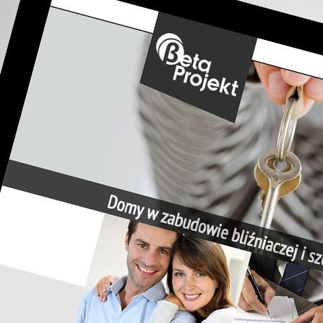 Strona internetowa – www.betaprojekt.com.pl
