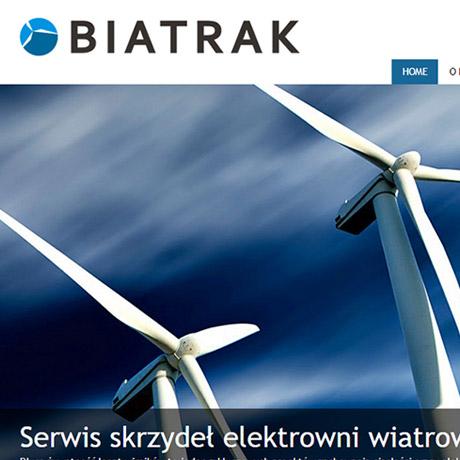 Strona internetowa – www.biatrak.pl
