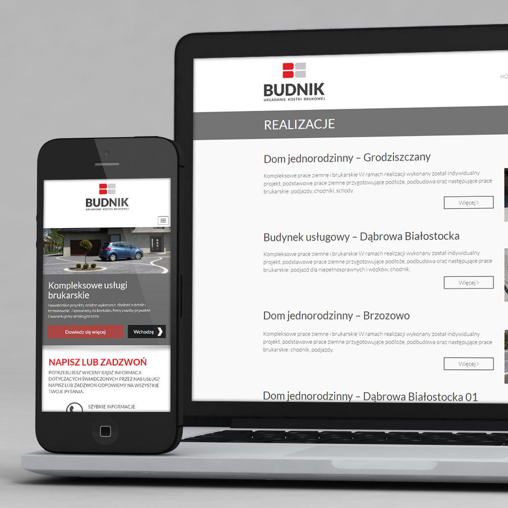 Strona internetowa – www.budnik-bruk.pl