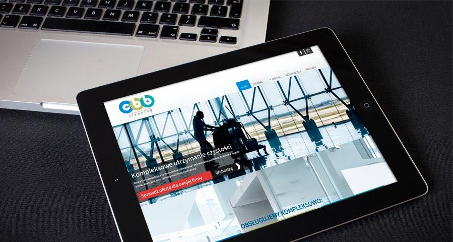 Projekt strony internetowej CBB