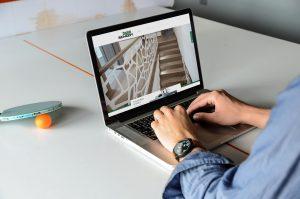 Projekt i wykonanie strony internetowej Chudzinski Schody - Projektowanie stron internetowych Clouds.pl