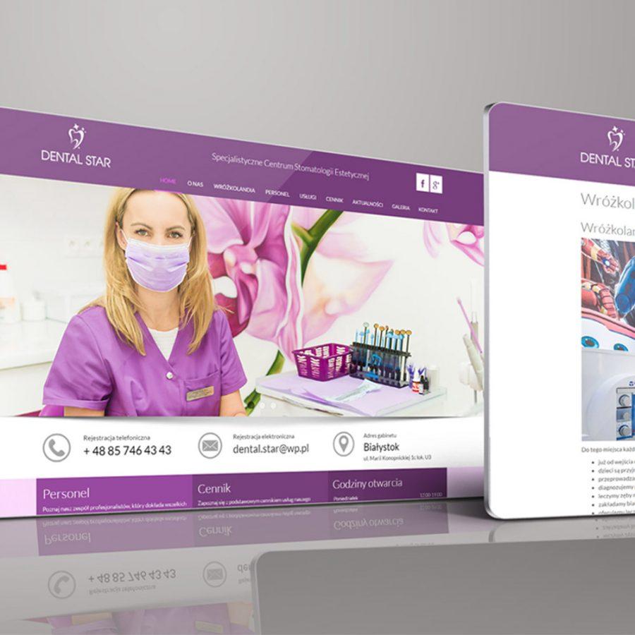 Strona internetowa – www.dentalstar.pl