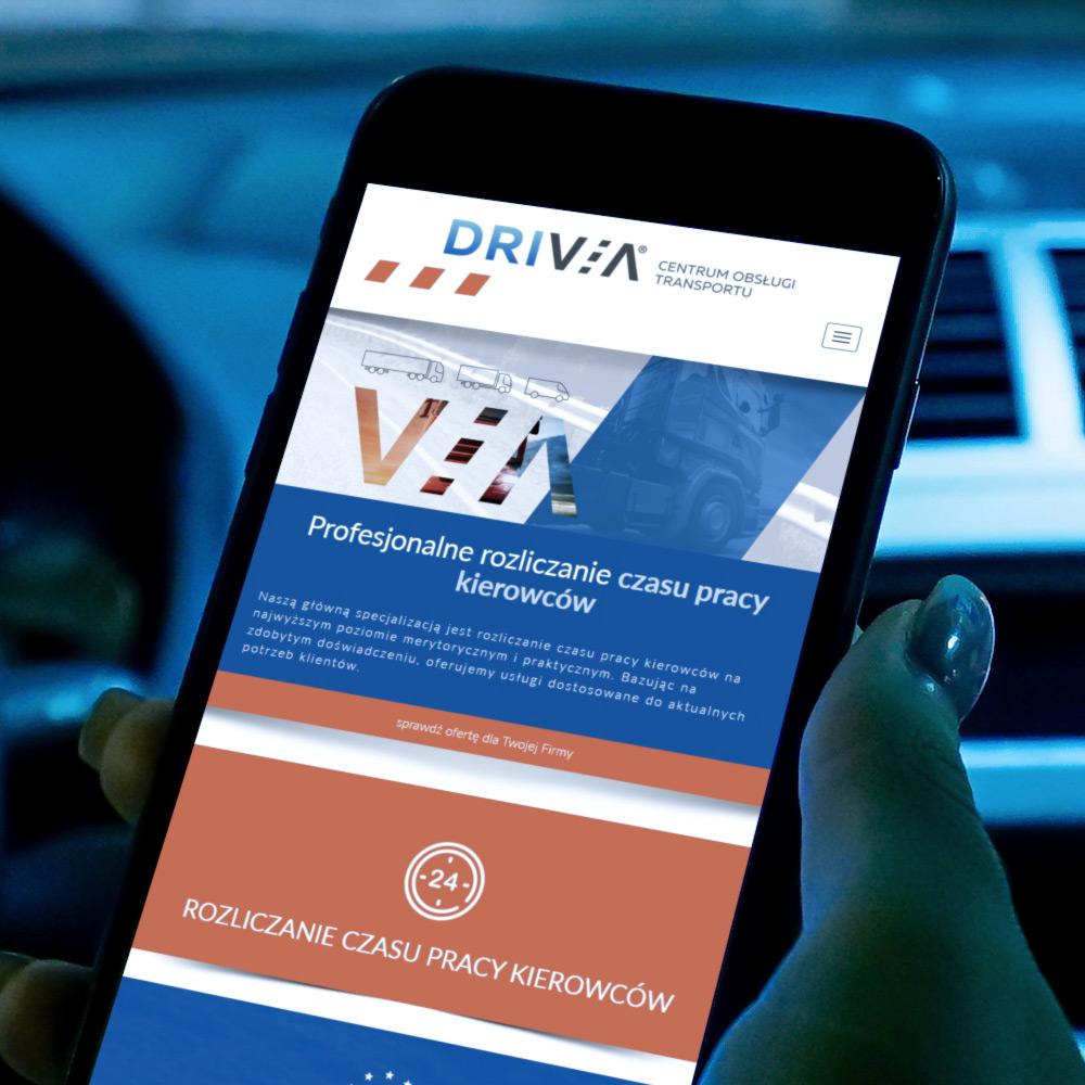 Strona internetowa – www.drivia.pl