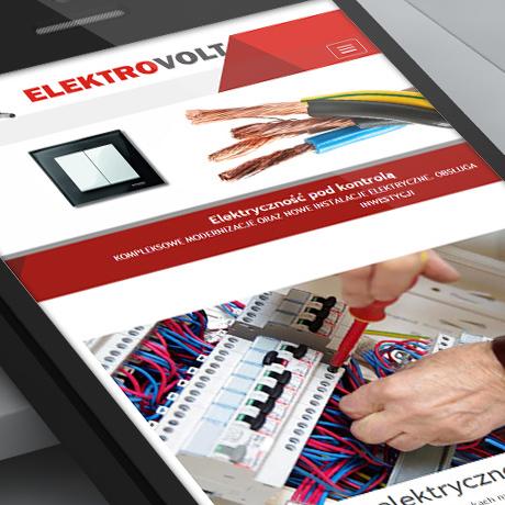 Strona internetowa – www.elektrovolt.bialystok.pl