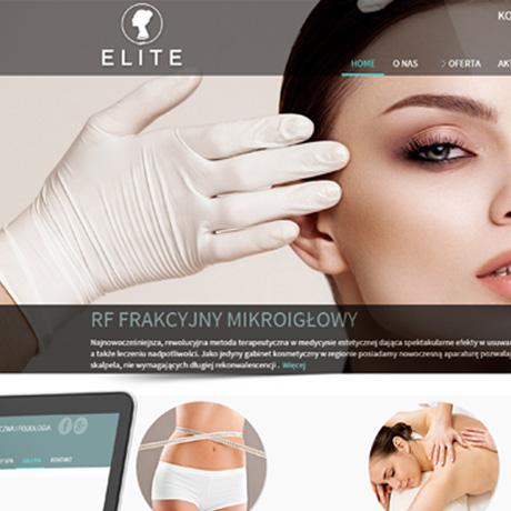 Strona internetowa – elite-kosmetologia.pl