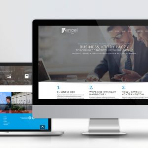 Projekt strony internetowej Engel International - Białystok