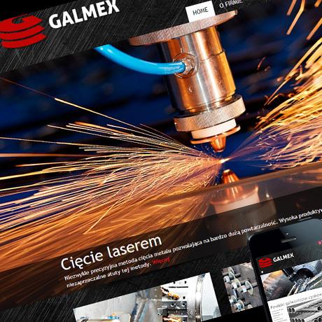 Strona internetowa – www.galmex.net.pl