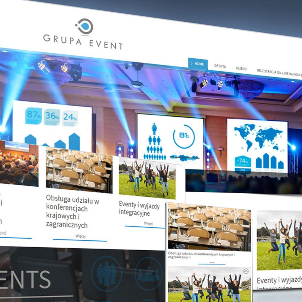 Strona internetowa – www.grupaevent.pl