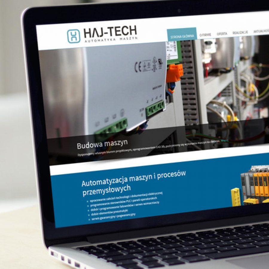 Strona internetowa – www.haj-tech.pl