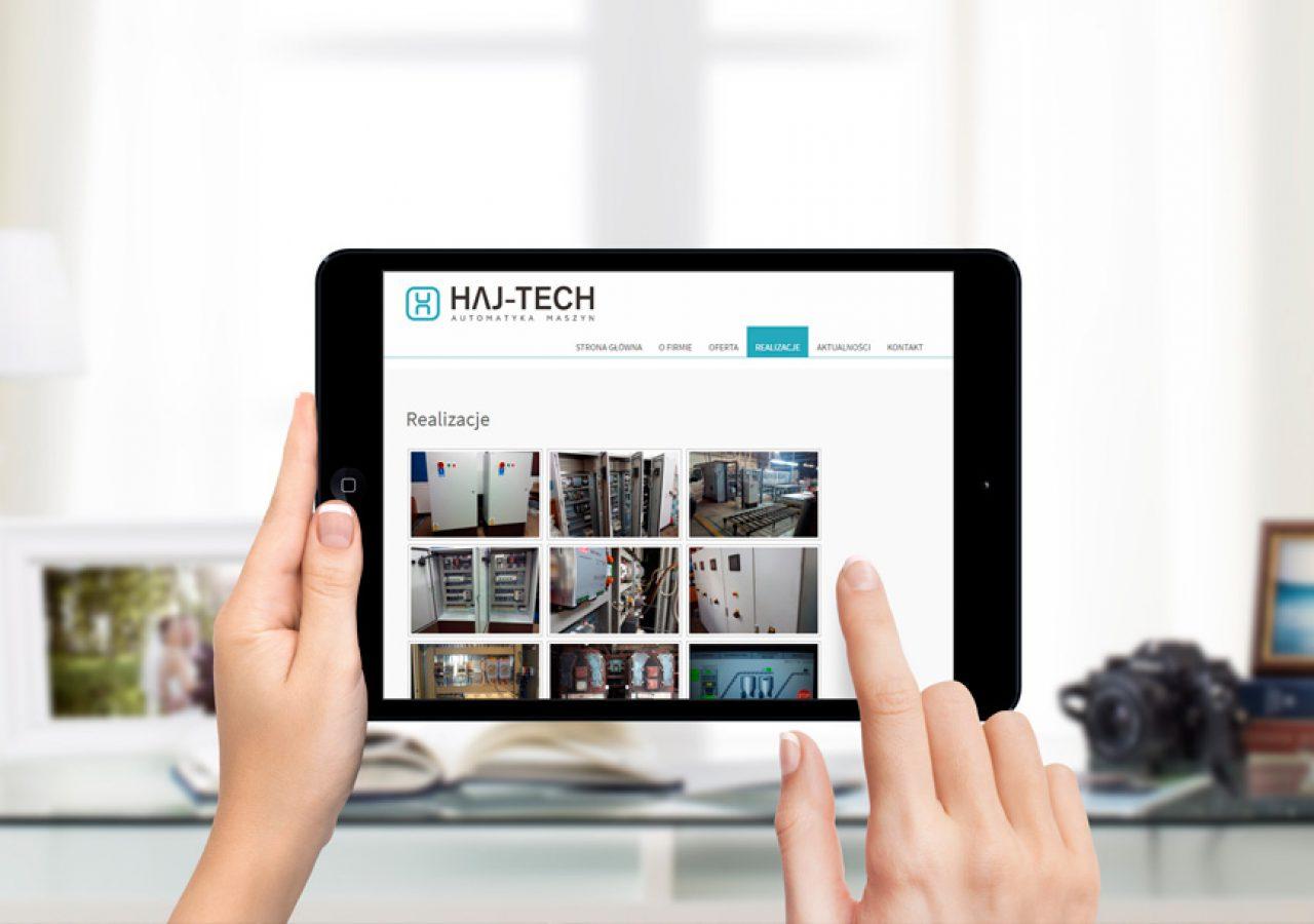 Haj-Tech - Projektowanie stron internetowych - Białystok