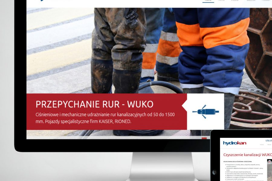 Strona internetowa – www.hydrokan.com