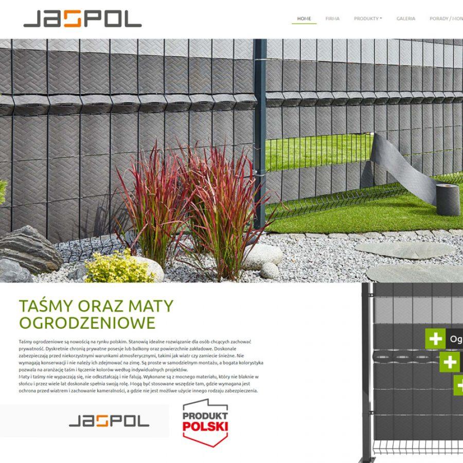 Strona internetowa – www.jaspol.pl