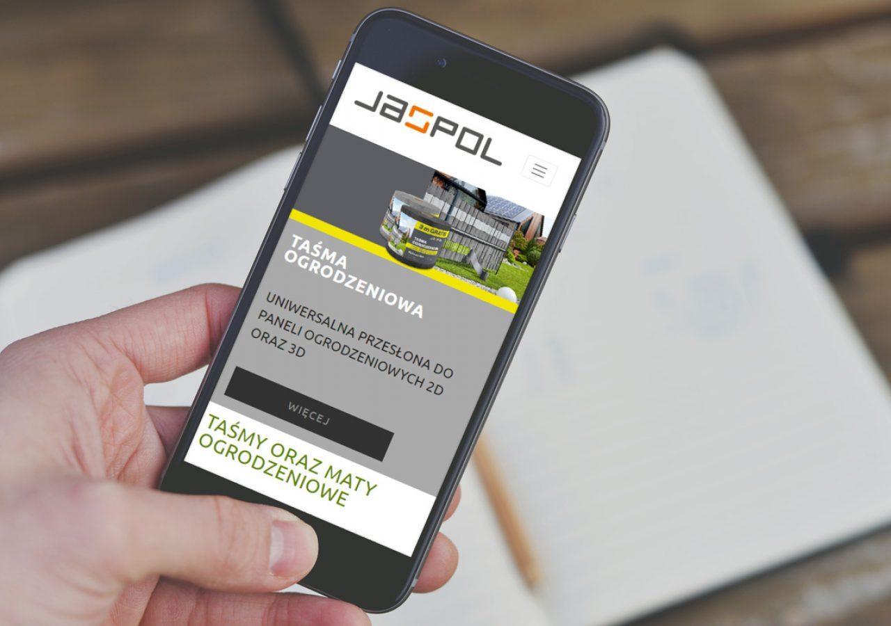 Projekt Strony internetowej Jaspol - Clouds Agencja Reklamowa Białystok