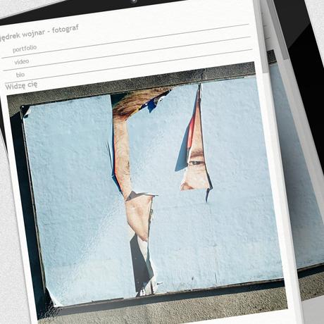 Strona internetowa – www.jedrzejwojnar.com