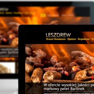 Leszdrew - Strony internetowe - Białystok